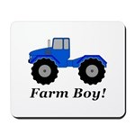 Farm Boy Tractor Mousepad