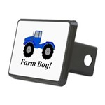 Farm Boy Tractor Rectangular Hitch Cover