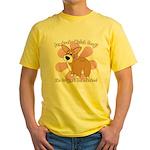 Corgi Bum Yellow T-Shirt