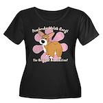 Corgi Bum Women's Plus Size Dark TShirt