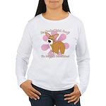 Corgi Bum Women's Long Sleeve T-Shirt