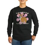 Corgi Bum Long Sleeve Dark T-Shirt