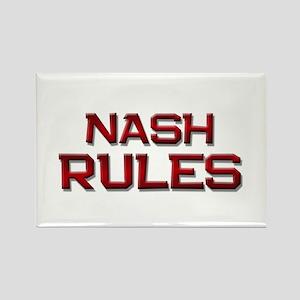 nash rules Rectangle Magnet