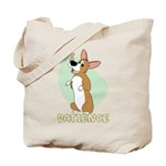 Corgi Begging Tote Bag