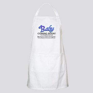 Baby - Coming Soon! BBQ Apron