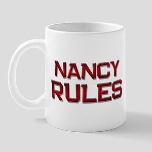 nancy rules Mug