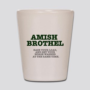 AMISH BROTHEL Shot Glass