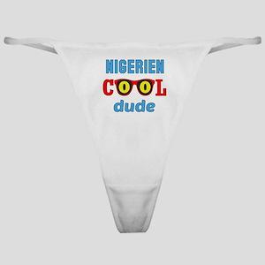 Nigerien Cool Dude Classic Thong