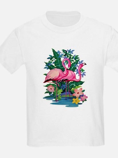 RETRO FLAMINGO T-Shirt