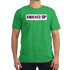 Knocked Up Men's Fitted T-Shirt (dark)
