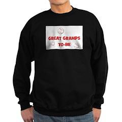 Great Gramps To Be -Baseball Sweatshirt (dark)