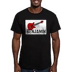 Guitar - Benjamin Men's Fitted T-Shirt (dark)