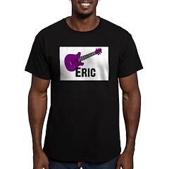 Guitar - Eric - Purple Men's Fitted T-Shirt (dark)