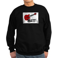 Guitar - Matt Sweatshirt (dark)