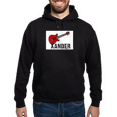 Guitar - Xander Hoodie (dark)