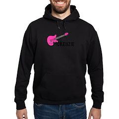 Guitar - McKenzie - Pink Hoodie (dark)