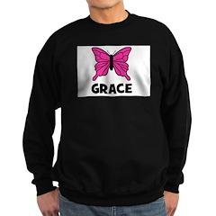 Butterfly - Grace Sweatshirt (dark)