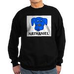 Nathaniel Puppy Dog Gift Sweatshirt (dark)