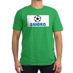 Soccer - Sandro Men's Fitted T-Shirt (dark)