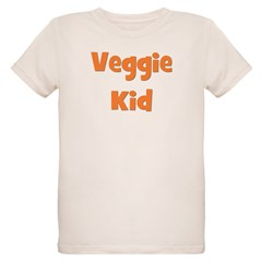 Veggie Kid Orange T-Shirt