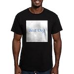 Best Dog Men's Fitted T-Shirt (dark)