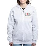 I (heart) My Groom Women's Zip Hoodie