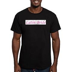 Latin Bride Men's Fitted T-Shirt (dark)