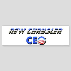 New Chrysler CEO Bumper Sticker