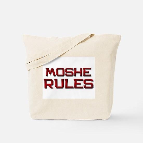moshe rules Tote Bag