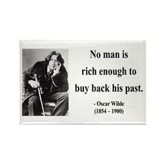 Oscar Wilde 20 Rectangle Magnet