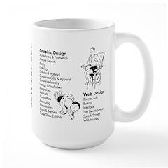 SRFBOY Large Mug