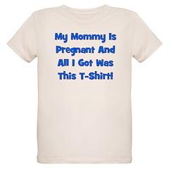 Mommy Pregnant blue boy T-Shirt