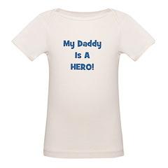 My Daddy Is A Hero - Blue/Boy Tee