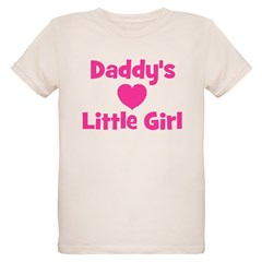 Daddy's Little Girl with hear T-Shirt