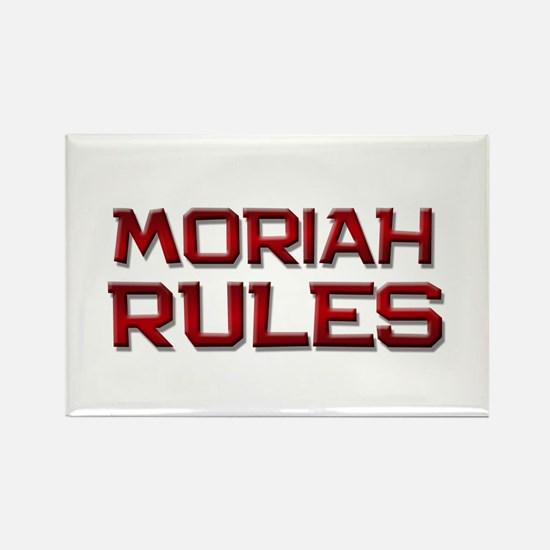 moriah rules Rectangle Magnet