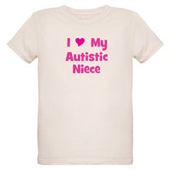 I Love My Autistic Niece T-Shirt