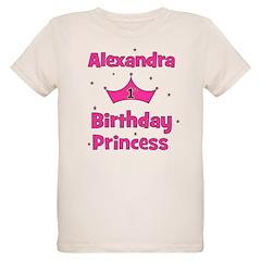 1st Birthday Princess Alexand T-Shirt