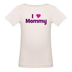 I love (heart) Mommy Tee
