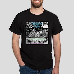 Cemetery Scene Dark T-Shirt