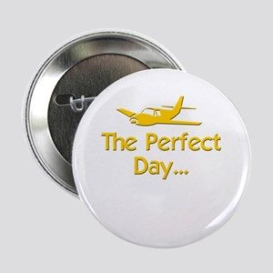 "pilot airplane flying 2.25"" Button"