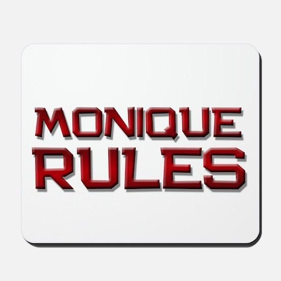 monique rules Mousepad
