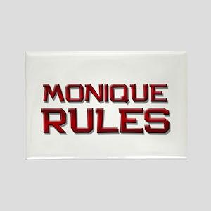 monique rules Rectangle Magnet