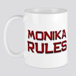 monika rules Mug