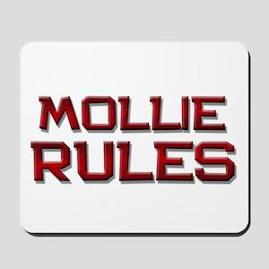 mollie rules Mousepad