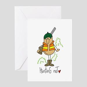 Hunting Nut Greeting Card
