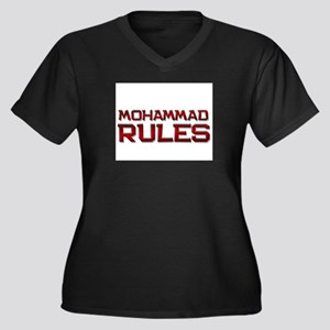 mohammad rules Women's Plus Size V-Neck Dark T-Shi