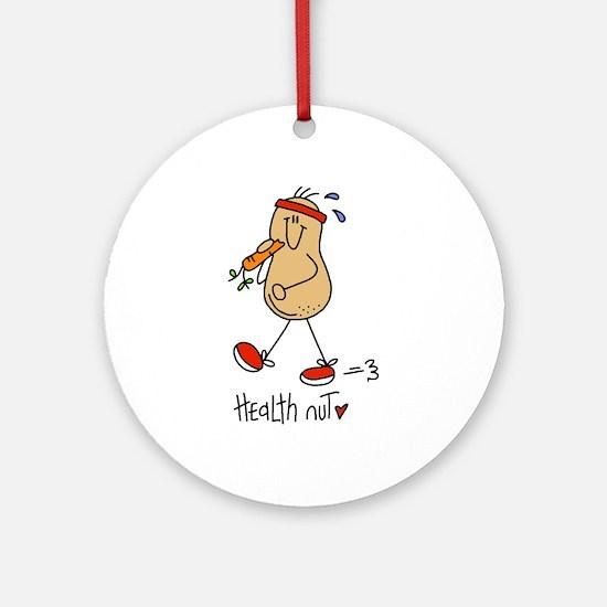 Health Nut Ornament (Round)