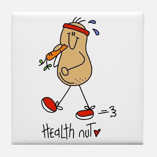 Health Nut Tile Coaster