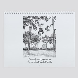 Amelia Island Lighthouse Wall Calendar