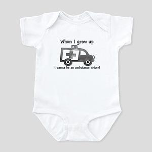 Grow Up Ambulance Infant Bodysuit